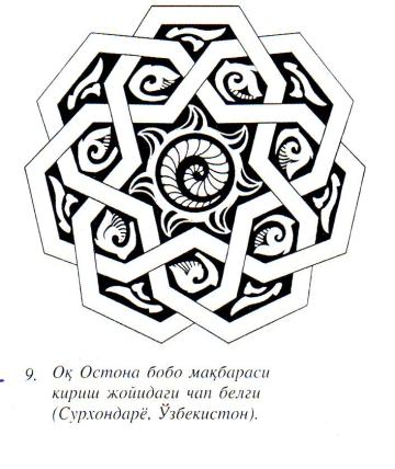on the religion of the samanid ancestors transoxiana 11 julio 2006 Middle East Languages fig 4 samanid mandala design on wall