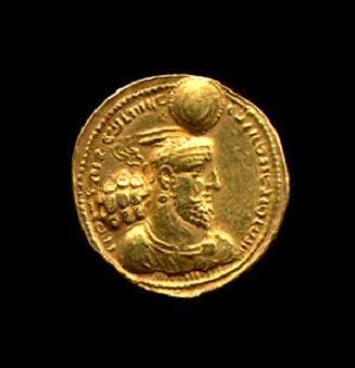 Imagen: Moneda sasanida